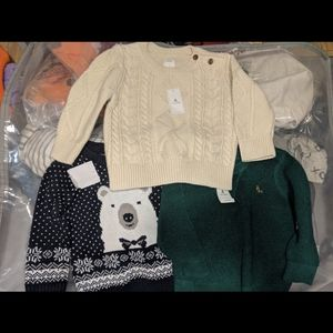 NWT baby Gap sweaters 12-18 months